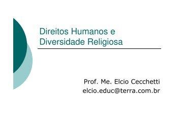 Direitos Humanos e Diversidade Religiosa - GPER