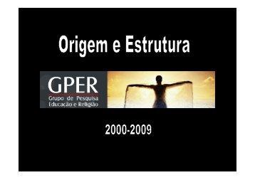 Anexo 1 - GPER