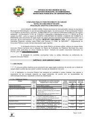 Abertura Edital - Jornal dos Concursos