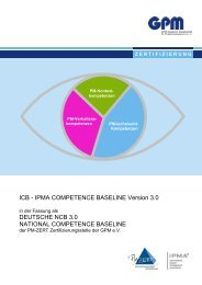 National Competence Baseline NCB 3.0 (PDF) - GPM Deutsche ...