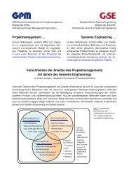 zur Kooperation (PDF) - GPM Deutsche Gesellschaft für ...