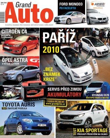TOYOTA AURIS - GRAND PRINC MEDIA, a.s.