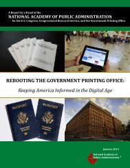 Keeping America Informed in the Digital Age - U.S. Government ...