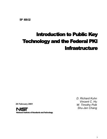 The current Internet public key infrastructure (PKI) aims