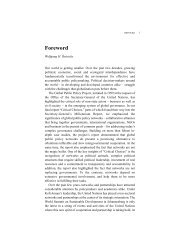 Foreword - Global Public Policy institute