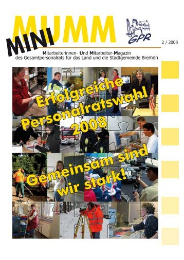 (MUMM) 2-2008 - GPR - Bremen