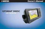 GPSMAP 3005C Owner's Manual - GPS Central