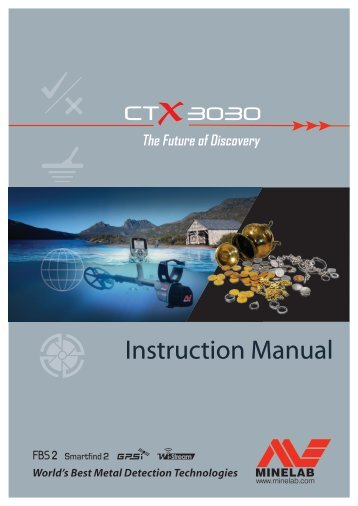 CTX 3030 Instruction Manual - Minelab