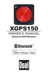 XGPS150 - Dual Electronics