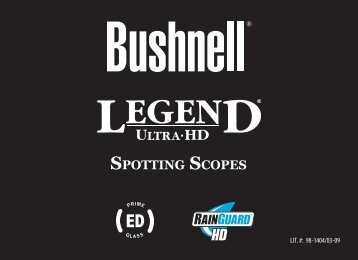 SPOTTING SCOPES - Bushnell