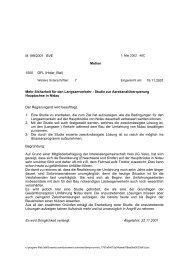 M-199-2001-vorstossantwort-de - Grosser Rat