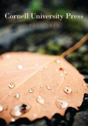 Cornell University Press Fall 2013