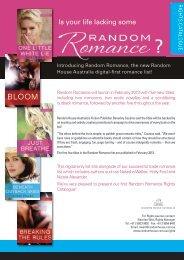 Random House Australia Romance