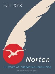The Norton Catalog Fall 2013
