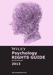 RIGHTS GUIDE Psychology