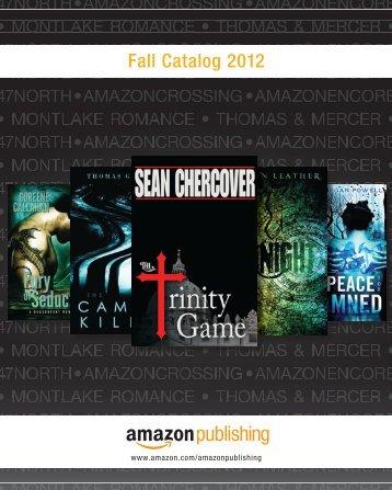 Fall Catalog 2012