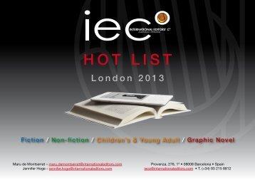 London 2013 - Silvia Meucci Literary Agency