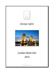 TGC Rights Guide (LBF 2013)
