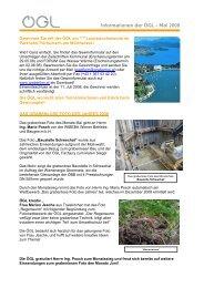 Informationen der ÖGL – Mai 2008 - OGL