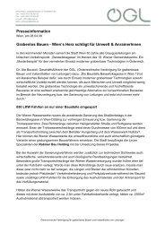 Wien's Herz schlägt für Umwelt & AnrainerInnen - OGL