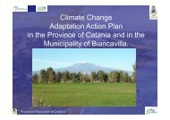 Climate Change Adaptation Action Plan in the Province of ... - GRaBS