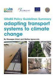 adapting transport systems to climate change - GRaBS