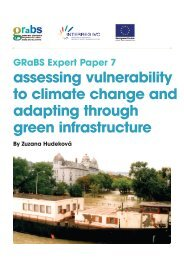 assessing vulnerability to climate change and adapting ... - GRaBS