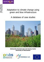 Adaptation to climate change using green and blue ... - GRaBS