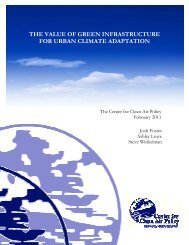 The Value of Green Infrastructure for Urban Climate ... - GRaBS