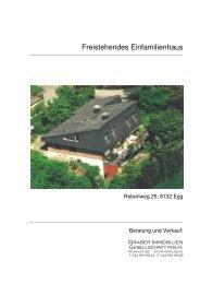 Freistehendes Einfamilienhaus - Homegate.ch