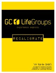 Group DIRECTORY - Grace Chapel