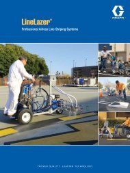 Line Striping Systems Brochure - Graco Inc.