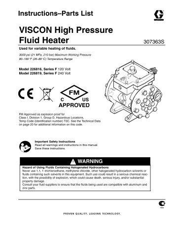Materialdurchflusserhitzer • Fluid heater • Rechauffeur de