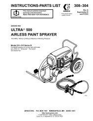 308304E Ultra 500 Airless Paint Sprayer