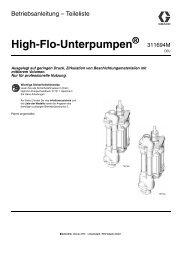 311694M, High-Flo Lowers, Instructions-Parts List ... - Graco Inc.