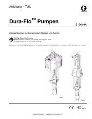 Dura-Flo ™ Pumpen - Graco Inc.