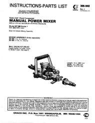 306940J Hydra-Cat Plural Component Manual Power ... - Graco Inc.