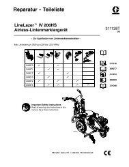 Parts -- LineLazer IV 200HS - Graco Inc.