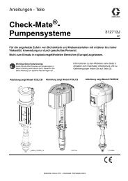312713J - Check-Mate Pump Packages Instructions ... - Graco Inc.