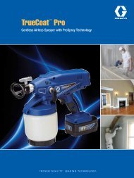 TrueCoat Pro Cordless Paint Sprayer - Graco Inc.