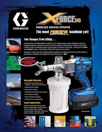 XForce HD - Graco Inc.