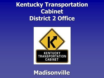 Great Kentucky Transportation Cabinet District 2 Office Madisonville