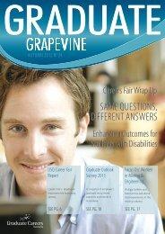 Graduate Grapevine Autumn 2012 - Graduate Careers Australia