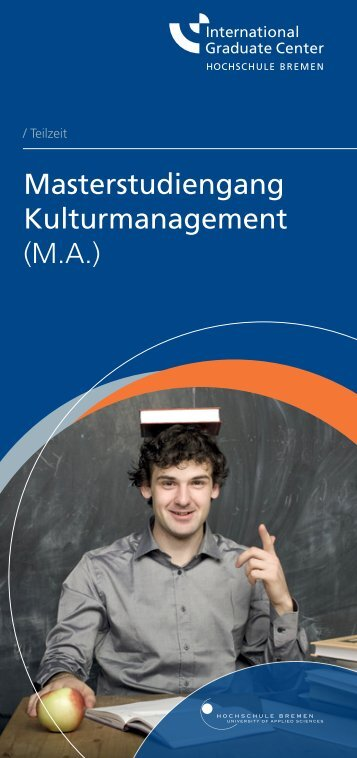 Masterstudiengang Kulturmanagement (M.A.) - International ...