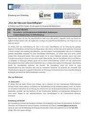 Einladung zum Workshop - University of Würzburg Graduate Schools