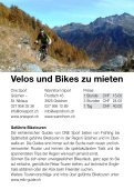 Broschüre Bikerouten - Region Grächen St. Niklaus - Seite 2