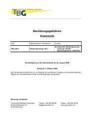 Technische Betriebe - Gemeinde Gränichen