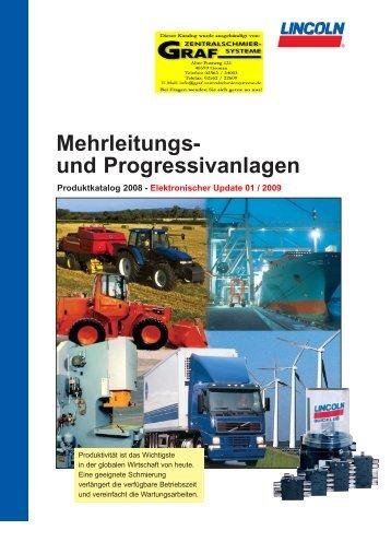 Mehrleitungs- und Progressivanlagen - Graf Zentralschmiersysteme ...