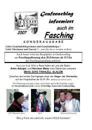 Faschingszeitung 2007 (0 bytes) - Grafenschlag
