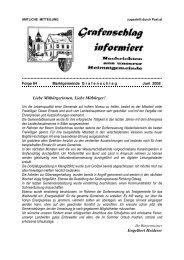 Gemeindezeitung Nr. 84 Juni 2008 (1,04 MB - Grafenschlag